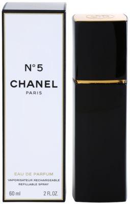 Chanel No.5 eau de parfum nőknek  utántölthető