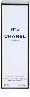 Chanel No.5 parfémovaná voda pro ženy  plnitelná 4