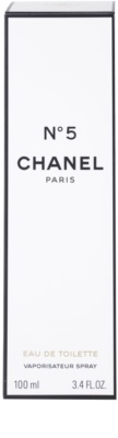 Chanel No.5 Eau de Toilette für Damen 4