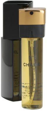 Chanel No.5 toaletní voda pro ženy  (1x plnitelná + 2x náplň) 3