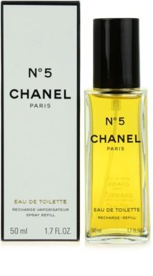 Chanel No.5 Eau de Toilette para mulheres  recarga