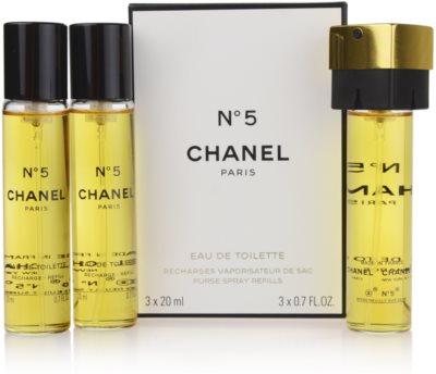 Chanel No.5 Eau de Toilette pentru femei  set pentru voiaj
