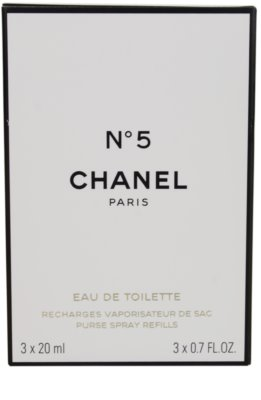 Chanel No.5 Eau de Toilette für Damen  Travelpack 1