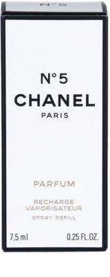 Chanel No.5 parfém pre ženy  náplň s rozprašovačom 3