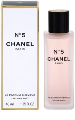 Chanel No.5 perfume para cabelos para mulheres