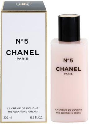 Chanel No.5 creme de duche para mulheres