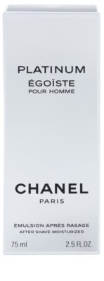 Chanel Egoiste Platinum After Shave-Emulsion für Herren 2