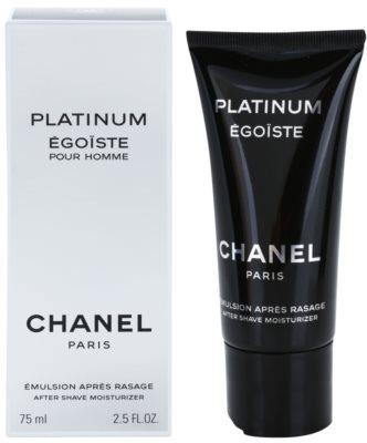 Chanel Egoiste Platinum emulze po holení pro muže