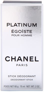 Chanel Egoiste Platinum deostick pre mužov 3