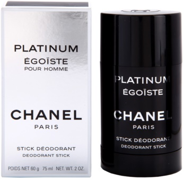 Chanel Egoiste Platinum desodorizante em stick para homens