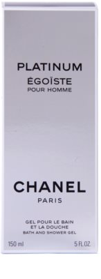 Chanel Egoiste Platinum Duschgel für Herren 3