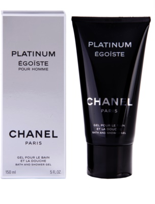 Chanel Egoiste Platinum gel de duche para homens