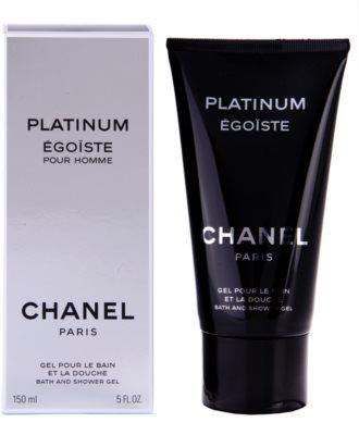 Chanel Egoiste Platinum tusfürdő férfiaknak