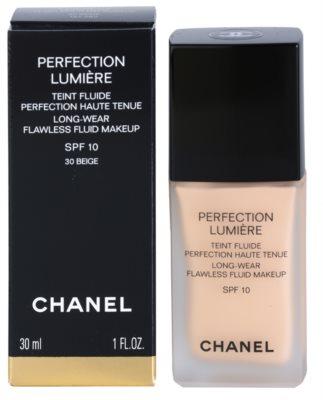 Chanel Perfection Lumiére fluidni tekoči puder za odličen videz 3