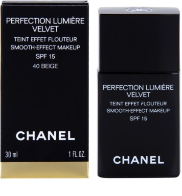 Chanel Perfection Lumiére Velvet samtenes Make-up für mattes Aussehen 1