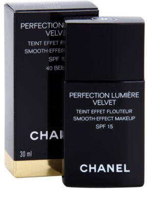 Chanel Perfection Lumiére Velvet samtenes Make-up für mattes Aussehen 2