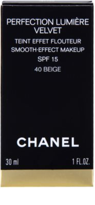 Chanel Perfection Lumiére Velvet samtenes Make-up für mattes Aussehen 3