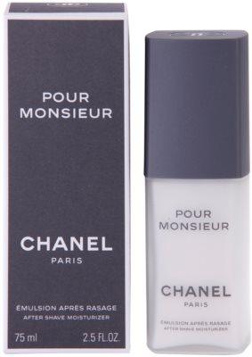 Chanel Pour Monsieur After Shave-Emulsion für Herren