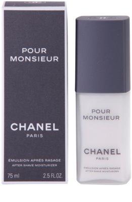 Chanel Pour Monsieur emulze po holení pro muže