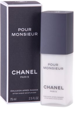 Chanel Pour Monsieur emulze po holení pro muže 1