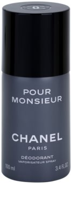 Chanel Pour Monsieur deodorant Spray para homens