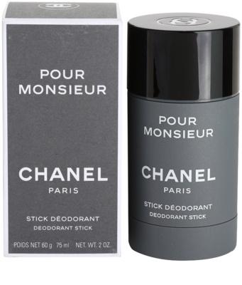 Chanel Pour Monsieur desodorante en barra para hombre