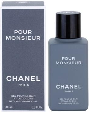 Chanel Pour Monsieur gel de duche para homens