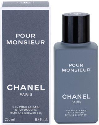 Chanel Pour Monsieur sprchový gel pro muže