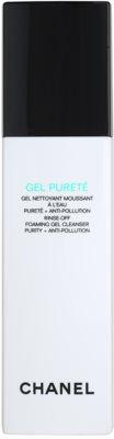 Chanel Cleansers and Toners gel limpiador para pieles mixtas y grasas