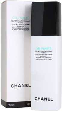 Chanel Cleansers and Toners gel de curatare pentru ten mixt si gras 2