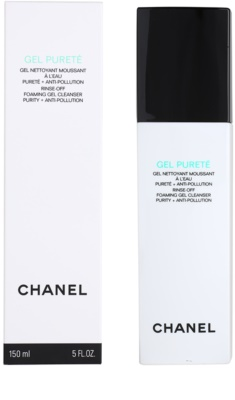 Chanel Cleansers and Toners gel de curatare pentru ten mixt si gras 3
