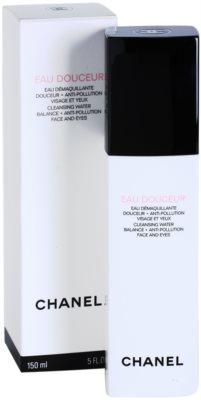 Chanel Cleansers and Toners tónico limpiador para rostro y contorno de ojos 2