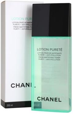 Chanel Cleansers and Toners tisztító tonik kombinált és zsíros bőrre 1
