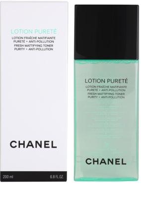 Chanel Cleansers and Toners tisztító tonik kombinált és zsíros bőrre 2