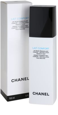 Chanel Cleansers and Toners leite de limpeza para pele seca 2