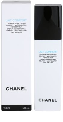 Chanel Cleansers and Toners leite de limpeza para pele seca 3