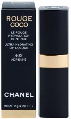 Chanel Rouge Coco Ultra Hydrating szminka intensywnie nawilżający 4