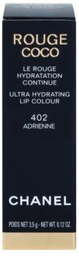 Chanel Rouge Coco Ultra Hydrating червило  за интензивна хидратация 5