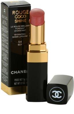 Chanel Rouge Coco Shine hidratáló rúzs 1