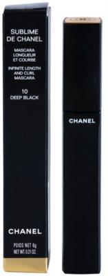 Chanel Sublime De Chanel Schwung und Länge Mascara 2
