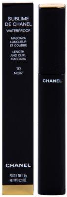 Chanel Sublime De Chanel hosszabbító és göndörítő szempillaspirál vízálló 1