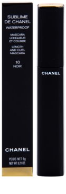 Chanel Sublime De Chanel máscara de alongamento e curvatura à prova de água 1