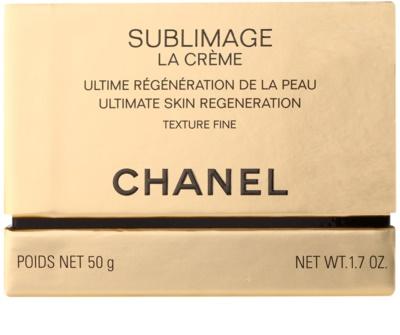 Chanel Sublimage crema regeneradora fórmula ligera  antiarrugas 2
