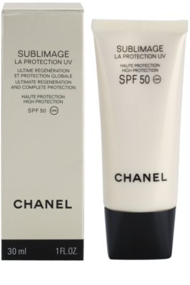Chanel Sublimage regeneráló és védő krém SPF 50 1