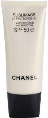 Chanel Sublimage regeneráló és védő krém SPF 50