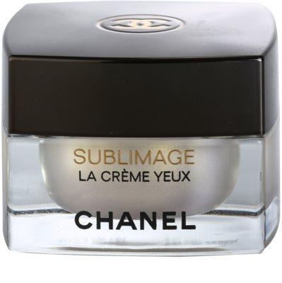 Chanel Sublimage crema de lujo para contorno de ojos