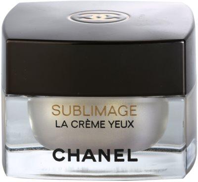 Chanel Sublimage creme de luxo para o contorno dos olhos