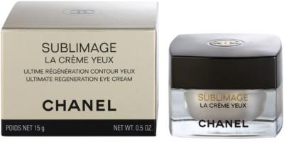 Chanel Sublimage Luxuscreme für die Augenpartien 3