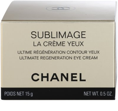 Chanel Sublimage Luxuscreme für die Augenpartien 4