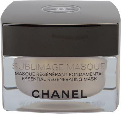 Chanel Sublimage regeneráló maszk az arcra